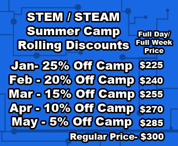 STEM Summer Camp Coupon